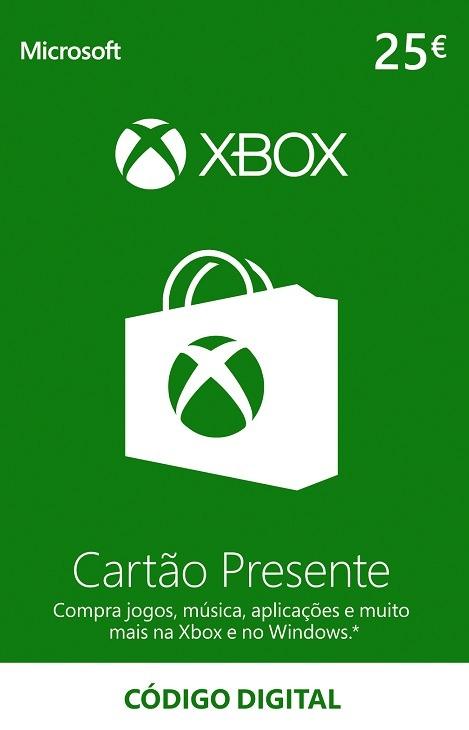XBOX 25 Euros Portugal