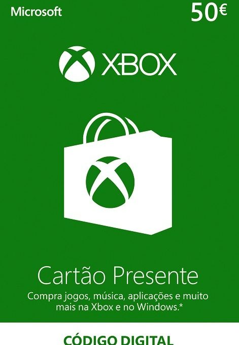 XBOX 50 Euros Portugal