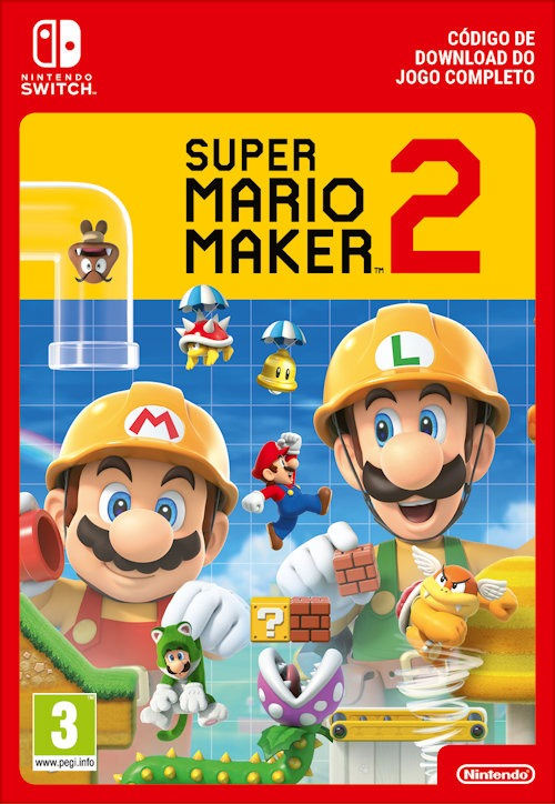 Super Mario Maker 2 Capa Nintendo Switch