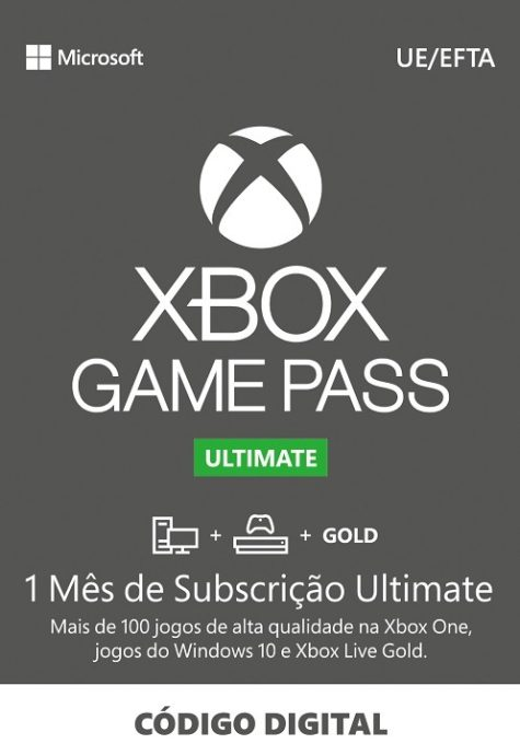 XBOX Game Pass Ultimate 1 Mes Portugal