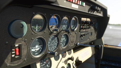 Imagem in-game Microsoft Flight Simulator