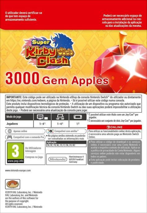 Super Kirby Clash 3000 Gem Apples