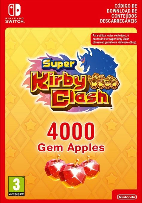 Super Kirby Clash 4000 Gem Apples