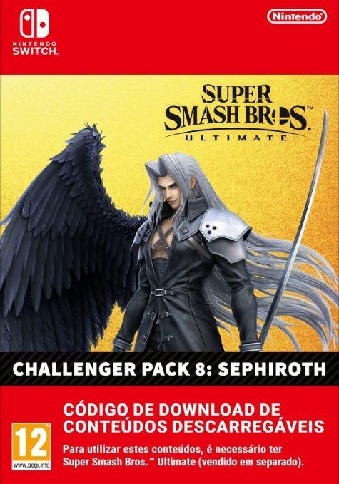 Super Smash Bros Ultimate DLC Sephiroth